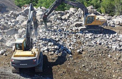 Excavation de masse